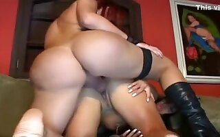 Horny homemade shemale movie with Stockings, Redhead scenes