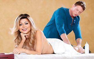 Pierce Paris & Johanna B in Trans Massage, Scene #03 - GenderX