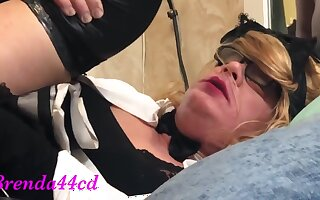 Brenda44cd Gets Her Sissy Holes Filled By Bbc - Until Facial With Brenda Ho