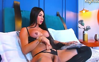 Big Tits Latina Shemale In Frowning Lingerie And Stockings Camshows Solo